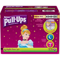 Kimberly-clark HUGGIES Pull-Ups Girls' Night-Time Training Pants, Giga Pack, (Choose Your Size)
