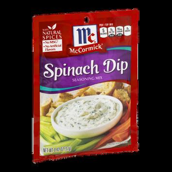 McCormick Seasoning Mix Spinach Dip