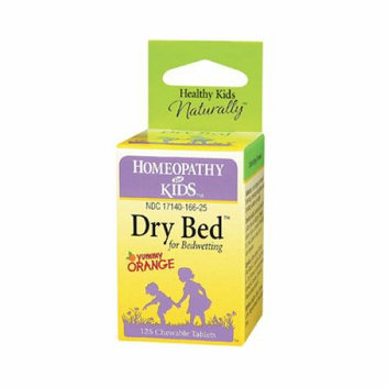 Herbs For Kids Dry Bed for Bedwetting 125 Chewable Tablets