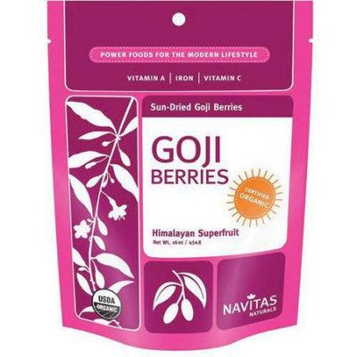 Generic Navitas Naturals Sun-Dried Goji Berries, 16 oz