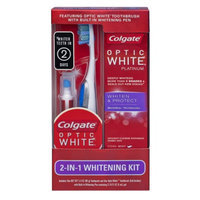Colgate Optic White 2-in-1 Whitening Kit