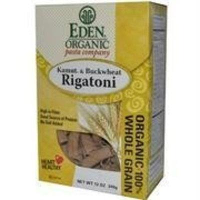 Eden Foods Organic Pasta Kamut and Buckwheat Rigatoni -- 12 oz