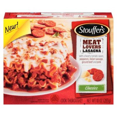 Stouffer's Stouffers Classics Meat Lovers Lasagna 10 oz