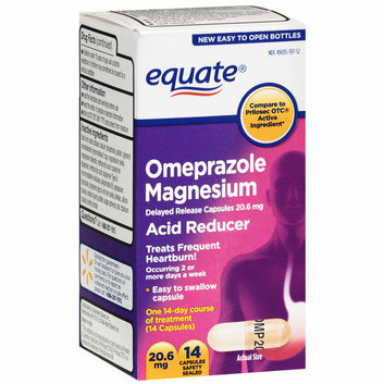 Equate 20.6mg Omeprazole Magnesium