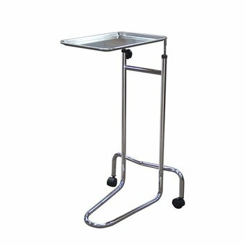 Drive Medical Mayo- Instrument Stand with Double Post