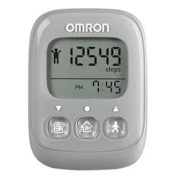 Omron HJ329 Alvita Ultimate Digital Fitness Pedometer, Gray, 1 ea