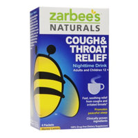 ZarBee's All-Natural Extra Strength Cough & Throat Relief Packets