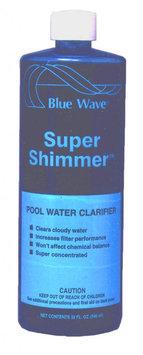 Suncoast Chemicals BLUE WAVE Super Shimmer Water Clarifier - 1 qt