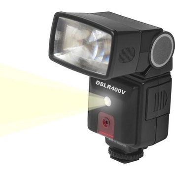 Precision Design DSLR400V Universal High Power Auto Flash with LED Video Light