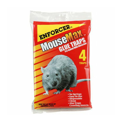 Enforcer MM-4 MouseMax Glue Traps - 4-Pack