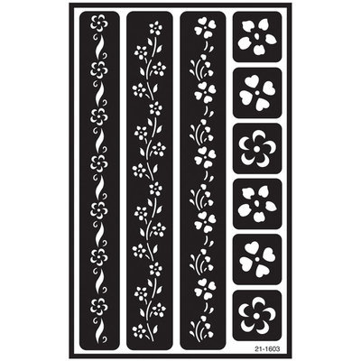 Armour Products Flwr Bordr-Over N Over Stencil