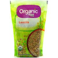 Organic Great Value Lentils, 16 oz