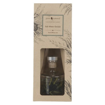 Pacific Trade Pure and Natural Salt Water Orchid Reed Diffuser