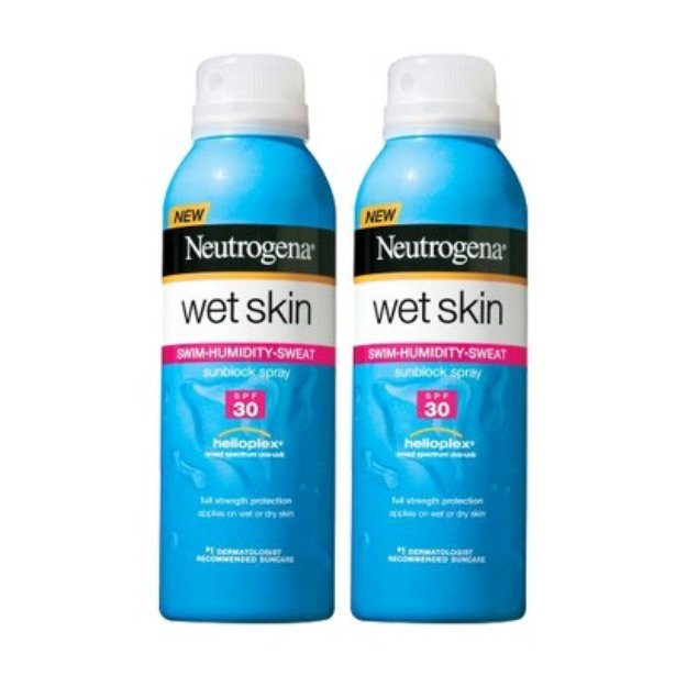 Neutrogena Sun Wet Skin Neutrogena Wet Skin Sunblock Spray Set with SPF 30 - 2 Pack