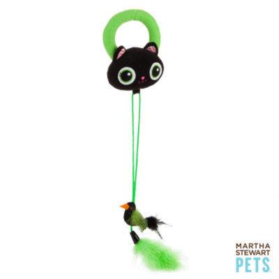 Martha Stewart PetsA Black Cat Door Dangler
