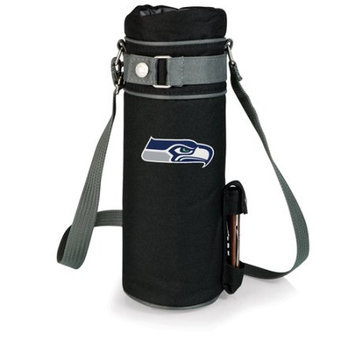 Nfl - Seattle Seahawks Picnic Time NFL Seattle Seahawks Wine Sack Digital Print Insulated Single Bottle Tote