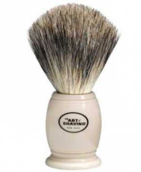 Art of Shaving The  Ivory Pure Badger Brush