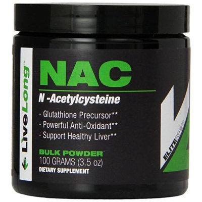 LiveLong Nutrition NAC Supplement, 3.5 Ounce