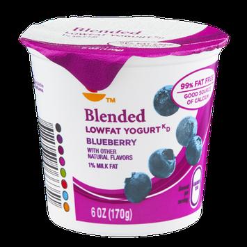 Ahold Blended Lowfat Yogurt Blueberry