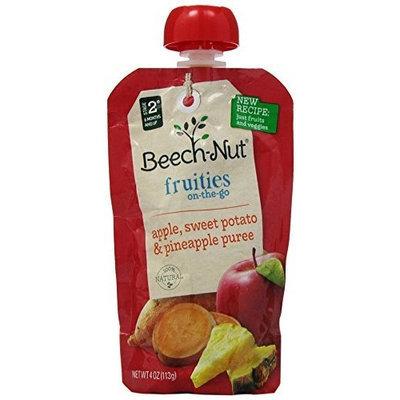 Beech-nut Fruities On-the-go Apple, Sweet Potato, Pineapple 8/4oz Pouches