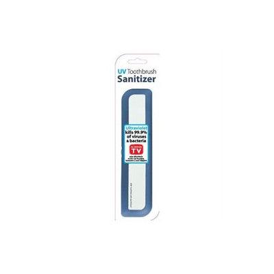 Zadro UV Toothbrush Disinfectant Scanner Model No. TOOB1 - Blue