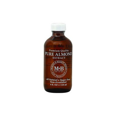 Morton & Bassett Pure Almond Extract 4 fl oz