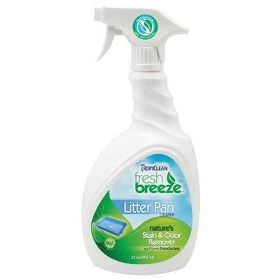 Tropiclean Fresh Breeze Stain   Odor Tropiclean Fresh Breeze Stain and Odor Litter Pan Cleaner