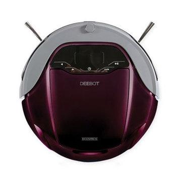 Ecovacs Robotics Inc Ecovacs Robotics - Deebot D79 Self-emptying Robot And Canister Vacuum - Burgundy
