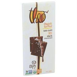 Theo Chocolate Sea Salt 70% Dark (12x3 OZ)