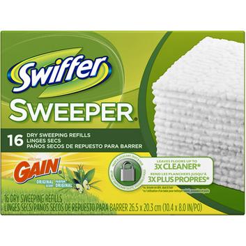 Swiffer Sweeper Gain Original Scent Dry Sweeping Cloths Refills