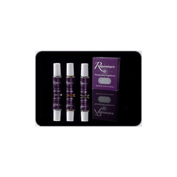 Rejuveneck Essential Oils Therapeutic Fragrances - Set of 3 Invigorate, Tension Relief, Sleepy Time.
