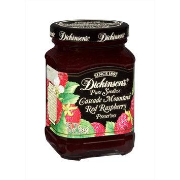 Dickinson's Cascade Mountain Pure Seedless Red Raspberry Preserves