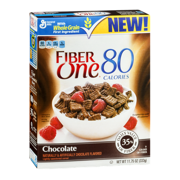 Fiber One 80 Calories Cereal Chocolate