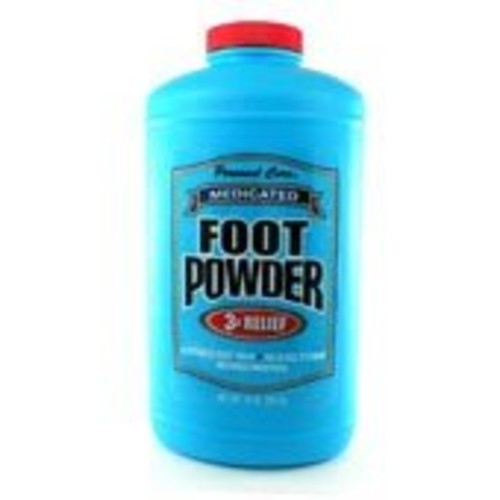 Personal Care Medicated Foot Powder, 10 oz (Pack of 12)