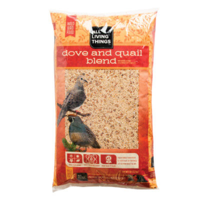 All Living ThingsA Dove and Quail Blend Wild Bird Food
