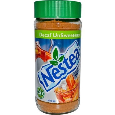 Nestlé Decaf Iced Tea Mix, Unsweetened, 3 oz (85 g)