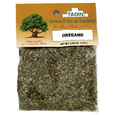Tadin Herb and Tea Tadin Herbs & Tea, Oregano (Oregano), 0.5-Ounce Cellophane Bags (Pack of 4)