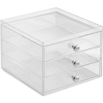 InterDesign Storage and Organization Drawers, 3-Drawer Slim