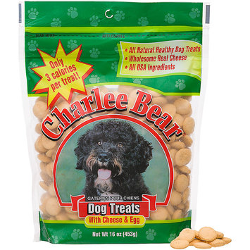 Charlee Bear Cheese and Egg Treats 16oz Pouch