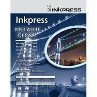 Inkpress Metallic Paper, 255 gsm, 10 mil, Metallic Glossy Surface, 4x6