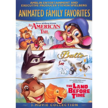 Universal Studios Animated Family Favorites 3-Movie Collection