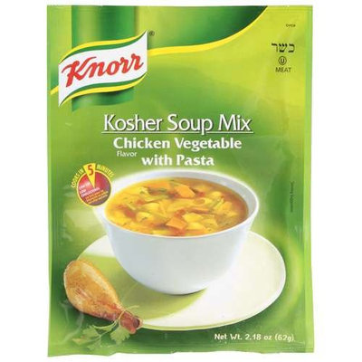 Knorr® Chicken Vegetable With Pasta Kosher Soup Mix