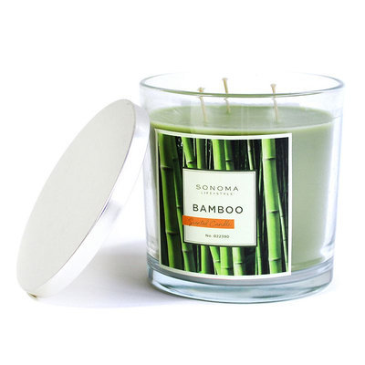 SONOMA Goods for Life™ Bamboo 14-oz. Jar Candle, Green
