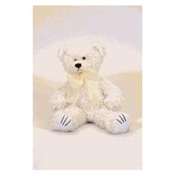Sootheze Soothese 20010 White Curly Bear