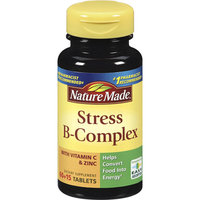Nature Made Stress B-Complex Dietary Supplement With Vitamin C & Zinc