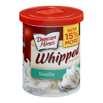 Duncan Hines Whipped Frosting Vanilla