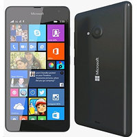 Microsoft Lumia 535 RM-1092 Dual SIM Factory Unlocked Cell Phone, US Version, 8GB, Black
