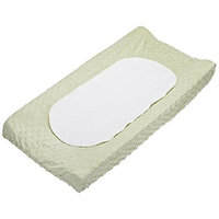 Carter's Carters Super Soft Dot Changing Pad Cover, Sage (Discontinued by Manufacturer)