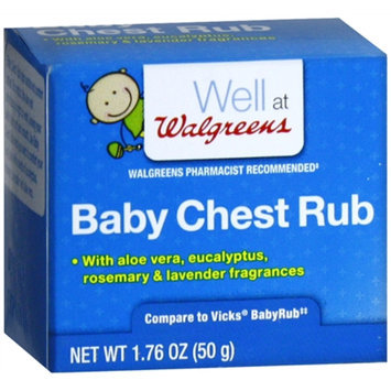 Walgreens Baby Chest Rub Soothing Ointment