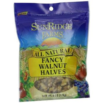 Sunridge Farms Walnuts Halves & Pieces, 6-Ounce Bags (Pack of 12)